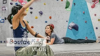 VLOG Top Rope Rock Climbing! by Bouldering Vlog