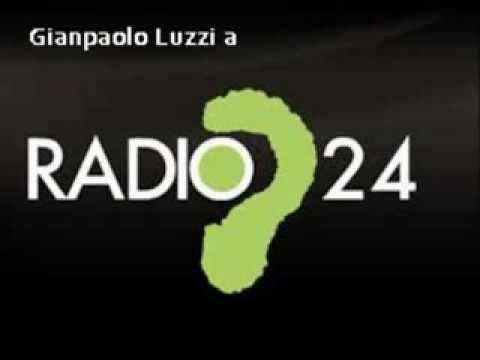 Gianpaolo Luzzi intervistato a Radio24