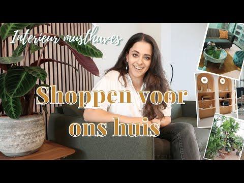 INTERIEUR SHOPPEN  VAN BUDGET TOT CONCEPT STORES - (ver)Huis vlog Binti Home