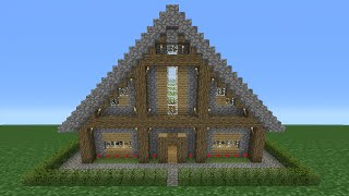 Minecraft Tutorial: How To Make A Small Survival House - 2