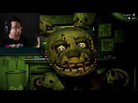 [MARKIPLIER] Funny Reactions - Five Nights At Freddy's 3 | Jump Scares, Funny Moments, Highlights.
