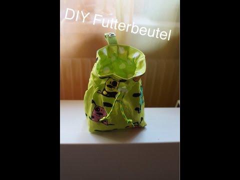 DIY Futterbeutel nähen