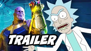 Rick and Morty Season 3 Episode 4 Promo. Marvel Avengers Infinity War, Guardians Of The Galaxy Vol 2 Parody, Easter Eggs ...