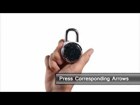 Screen capture of Master Lock 1500eXD dialSpeed™ - How to Open