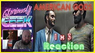 Gloriously Geek Reacts to American Gods Season 1 Episode 3, Head Full of SnowSUBSCRIBE HERE ► https://www.youtube.com/channel/UCPAckJ3dleAOCJcMG4qhPQg?sub_confirmation=1Follow my Instagram ► http://instagram.com/gloriouslygeekFollow me on Twitter ► https://twitter.com/gloriouslygeekLike me on Facebook ► https://www.facebook.com/gloriouslygeekVisit Mick's Mixology ► https://www.youtube.com/channel/UCjnnQc-Wkt3pcGsguoVoIPQ?sub_confirmation=1