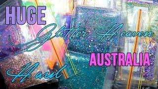 Hi everyone! A lot of you have been wanting to see all the glitter mixes I bought from Glitter Heaven Australia, so here they are!
