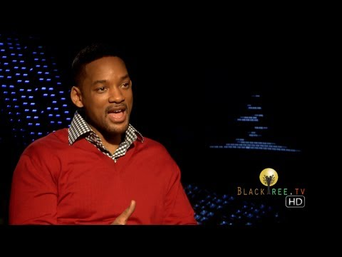 blacktreetv - [BlackTree TV - Los Angeles] BlackTree TV's own agent J, aka Agent Jamaal Finkley sits down with the other Agent J, Will Smith to discuss his career, Star Wa...