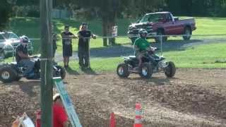 6. GHott TRX450R vs. Drag LTR 493cc - GBR Warren County, VA - 9/9/2012