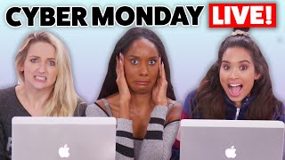 LIVE Cyber Monday Shopping Event!! Tracking Down The Best DEALS! by Clevver Style