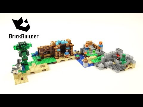 LEGO MINECRAFT 21135 The Crafting Box 2.0 version C Speed Build for Collecrors - Collection 57 sets