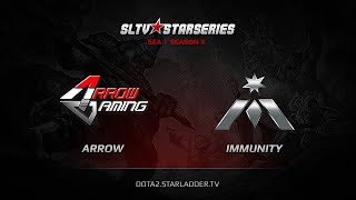 Arrow vs Immunity, game 1