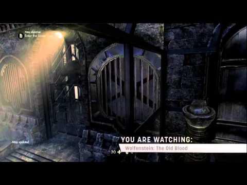 Wolfenstein: The Old Blood'dan ilk oynanış görüntüleri