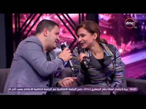 "شاهد - نيللي كريم وإدوارد يغنيان لـ ""حمدي باتشان"""