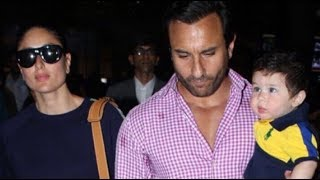 Kareena and Saif, who took off for their first vacation with Taimur, are finally back in town. Yes, Taimur was recently spotted ...