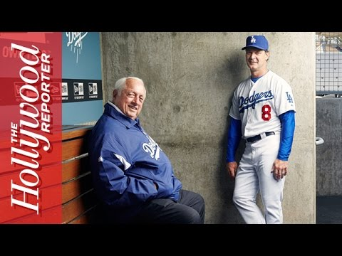 Los Angeles Dodgers - A behind the scenes look at our cover shoot of the Los Angeles Dodgers of Major League Baseball.