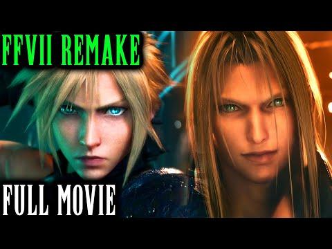 Final Fantasy VII Remake All Cutscenes - The Movie - Marathon Edition (Full Movie) PS4 2020