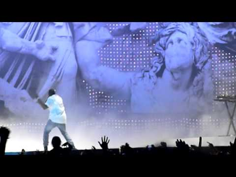 Kanye West - Jesus Walks & Can't Tell Me Nothing Live HD @ CLMF 2011 Cracow, Poland