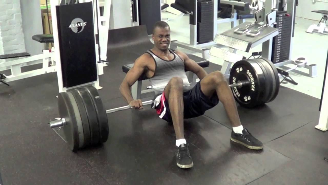 Usain Bolt – Hip Thrust 495 lbs