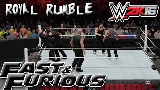 Nonton WWE 2K16 The Fast & Furious Royal Rumble Film Subtitle Indonesia Streaming Movie Download