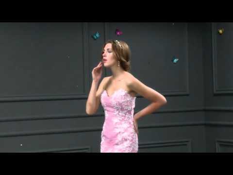 Organza & Stretch Satin Sweetheart Neckline Mermaid Prom Dress- Adasbridal (SOD60933)