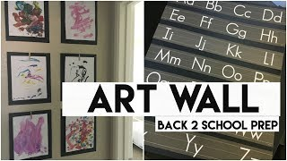 Dollar Tree materials and a bit of creativity - Here's an easy way to make an intentional display wall of collectibles, ticket stubs, or your child's work. No clutter but lots of fun. And a less busy ABC poster for toddlers too.No you have a place for things that you want to keep (even if for just a few weeks) but tend to leave your home looking cluttered.  With black poster board as a backdrop you have created an eye-catching display piece that is easy to change out. This is a more fun way to prepare for back-to-school season. And don't let all those busy colors and patterns on school supplies turn you away.  You can still use them in your home if you get a little creative and think a bit differently.------------------------------------------------------------------------------------------------✔ Ibotta app: $10 added to your refund account when you redeem your first rebate: https://ibotta.com/r/xgflatl✔ Vitacost link for $10 off your first purchase: https://goo.gl/2GfwBA✔ ThredUp link for $10 off your first purchase (online thrifting): http://www.thredup.com/r/QZNX3V✔ EBATES: Get $10 added to your quarterly rebate check upon your first purchase using this link: https://www.ebates.com/r/PKEELE17?eeid=28187 ------------------------------------------------------------------------------------------------ABOUT ME:I'm a stay at home mom to two girls ages 3 and 1. I like to laugh, read, keep a clutter free home and live on a budget.Subscribe: http://bit.ly/1bFm5hHInstagram: https://instagram.com/patriciakeeleThis video is not sponsored.