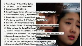 Video 18 Lagu Drama Korea Romantic Bikin Baper ABISS MP3, 3GP, MP4, WEBM, AVI, FLV September 2018