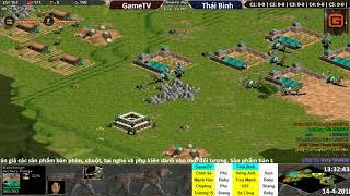 4vs4 Random | GameTV vs Thái Bình | Ngày: 14-04-2018. BLV: G_Ver