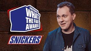 SNICKERS® What The Fail Awards - Выигрывайте PS4 Pro и кучу других призов!
