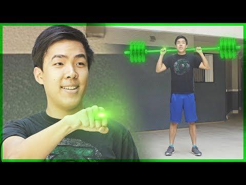 Green Lantern Workout