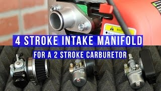Learn how to install a 2 stroke performance carburetor  for your 4 stroke motor. BikeBerry.com ►http://bit.ly/1FZ8nPpFacebook ► http://on.fb.me/1wWG4fDInstagram ► http://bit.ly/1aM3WxZTwitter ► https://twitter.com/bikeberrycomEverything you need to make your own Motorized Bicycle.
