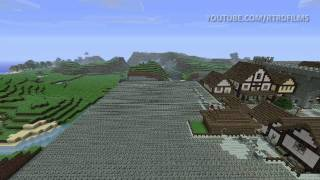 Minecraft Timelapse: Ep. 9 - Medieval City 2.0 (Part 7)