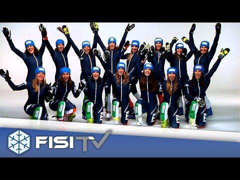 Gli Azzurri sono pronti! - ©FISI - Federazione Italiana Sport Invernali