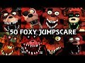 Download Video 50 FOXY JUMPSCARES! | FNAF & Fangame