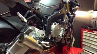 5. Racing Spec Full system titanium for BMW S1000RR 2013 installation