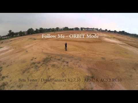 Dronie a.k.a Drone Selfie.