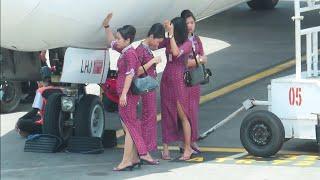 Video Pramugari Lion Air berteduh di Bawa Pesawat Menunggu Penumpang Turun di Bandara Ngurah Rai Bali MP3, 3GP, MP4, WEBM, AVI, FLV Desember 2018