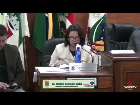 Sessão da Câmara de Vereadores de Dom Pedrito - 22/05/2017