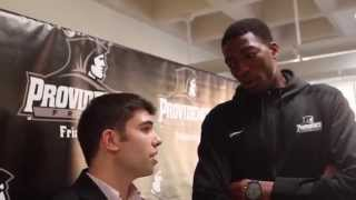 Craig Belhumeur with Paschal Chukwu – PC Media Day 2014
