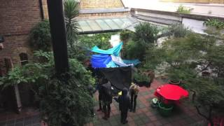 Den building with Youth Collective
