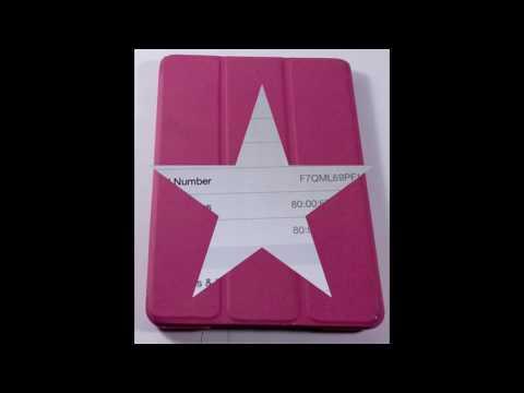 P74486 - Apple iPad mini 16GB, Wi-Fi, 7.9in - White & Silver Tablet.BUNDLE PINK CASE