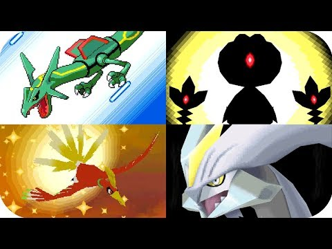 Pokémon 2D Games - All Important Cutscenes Animations (1080p60)