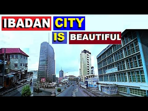 IBADAN CITY  IN OYO STATE IS BEAUTIFUL & TALL.  SKY SCRAPERS IN THE CITY CENTER.