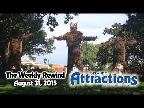 The Weekly Rewind @Attractions - HHN update, Pretzel Kitchen - Aug. 31, 2015