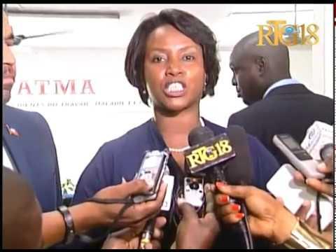 La première dame de la République d'Haïti, Martine MOISE a visité l'OFATMA