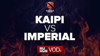 Kaipi vs Imperial, game 2