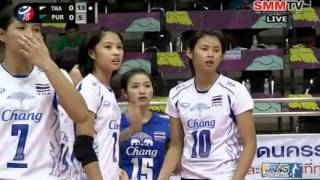Thailand - Puerto Rico [Set 1] Girls' U18 World Championship 29-07-2013