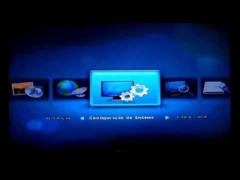 Atualizar, Procurar Canais e Ordenar Canais ShowBox Sat SD