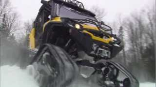 9. Apache 360 LT Track System for SSV and ATV Can-Am models