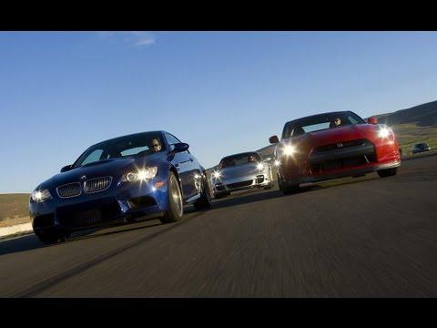 BMW M3 vs. Nissan GT-R vs. Porsche 911 Turbo – CAR and DRIVER