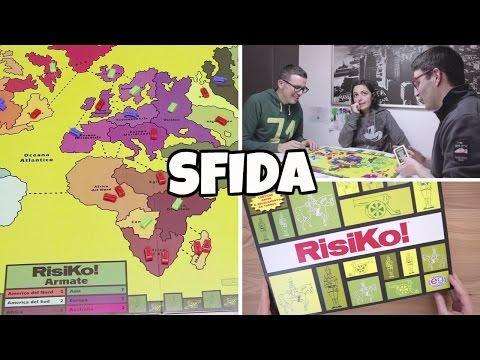 SFIDA A RISIKO: il gioco di battaglia da tavolo più EPICO del mondo